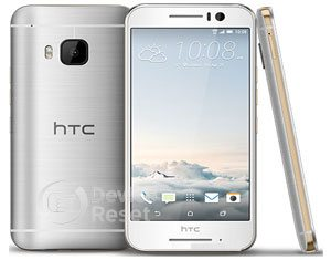 HTC One S9 hard reset