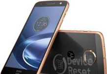 how to hard reset Motorola Moto Z Force
