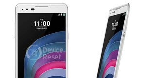 how to hard reset LG X5 features