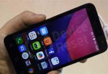 how to hard reset alcatel Pixi 4 (5)
