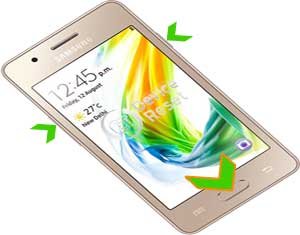 how to hard reset samsung galaxy z2