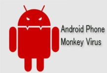Android device monkey virus