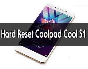 Coolpad Cool S1 hard reset