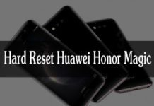Huawei Honor Magic hard reset