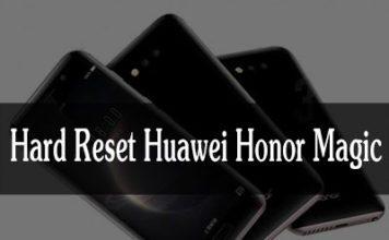 Huawei Honor Magic hard reset