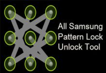 Android Device Pattern Lock Unlock