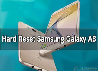 Samsung Galaxy On8 hard reset