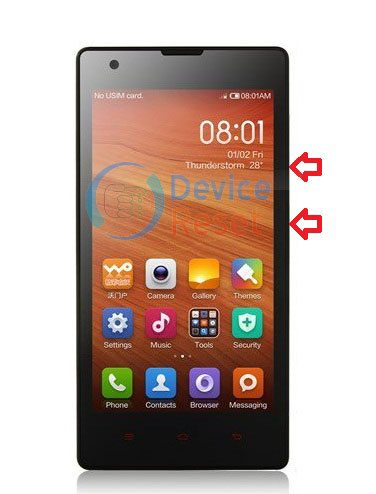 Xiaomi Redmi 1S Firmware /Flash File (MIUI ROM) Without Password