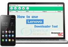 How to use Lenovo Downloader tool