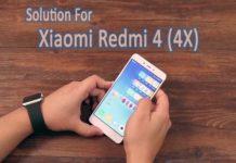 xiaomi redmi 4 (4X) hard reset