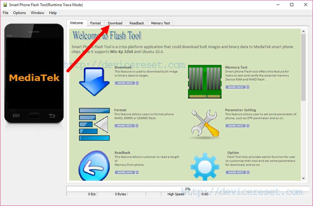 Flash Android Phone From PC Using SP Flash Tool