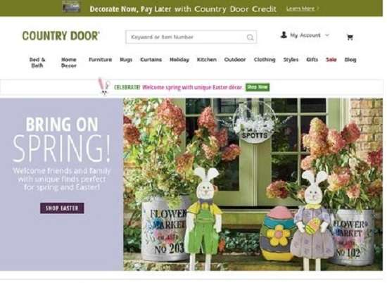 Country Door Buy Now Pay Later No Credit Check Furniture Provider
