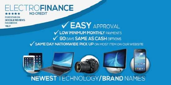 10 Provider Buy Now Pay Later Electronics No Credit Check - ElectroFinance