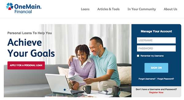 One Main Financial (offers veterans financial with bad credit)