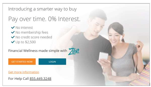 Zebit Buy Now Pay Later No Credit Check Instant Approval Provider